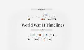WWII Timeline: European Theatre