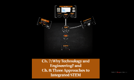 Ch. 7: Why Technology and Engineering? and