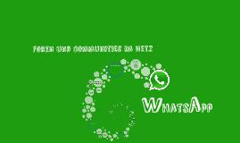 Copy of Foren und Communities im Netz