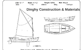 Dinghy Construction & Materials
