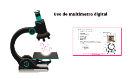 Uso de multitester digital
