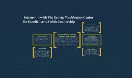 Hope Parsons Internship with The George Washington Center fo