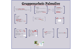 Gruppenarbeit: Palmolive