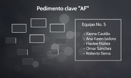 "Pedimento clave ""AF"""