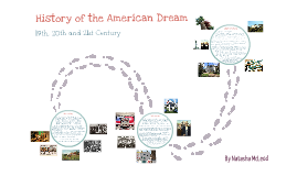 History of the American Dream