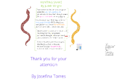 Copy of Hunting Snake Poem Analysis by JT