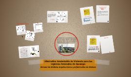Sistema de Modulos arquitectonicos prefabricados de Madera.