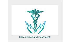 clinical pharmacy department