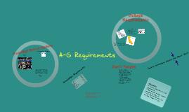 HS Grad Reqs and A-G