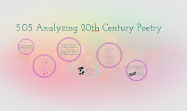 Copy of 5.05 Analyzing 20th Century Poetry