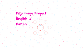 Pilgrimage Project