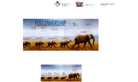 Discipleship Week 3 - Followership