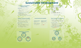 Econ365Su17.10 Sustainability and Development Policy