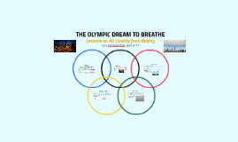 THE OLYMPIC DREAM TO BREATHE