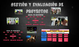 GESTIÓN Y EVALUACIÓN DE PROYECTOS