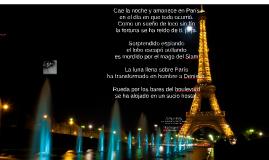 Cae la noche y amanece en París