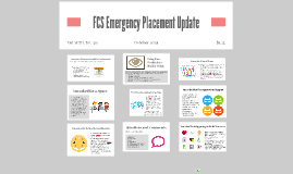 Emergency Placement Informational Forum Presentation