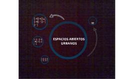Copy of Espacios Abiertos Urbanos