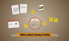 Who Jimmy Hoffa