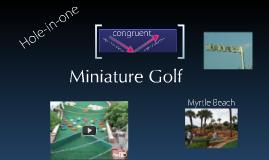 Copy of Geometry in Miniature Golf