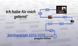 Seminararbeit 2014/2015