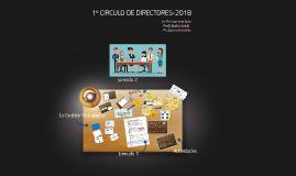 Copy of 1º CIRCULO DE DIRECTORES-2018