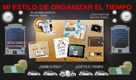 MI ESTILO DE ORGANIZAR EL TIEMPO-GRUPAL