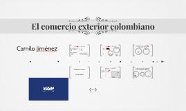 14. El comercio exterior colombiano