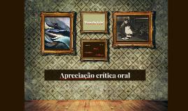 Apreciação crítica oral