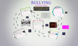Copy of BULLYING and SELF HARM