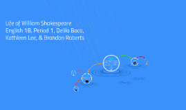 Copy of Life of William Shakespeare