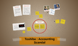 Toshiba's : Accounting Scandal