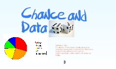 Chance and data