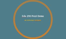 Edu 290 Prezi Demo