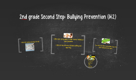 2nd grade Second Step: Bullying Prevention (1&2)