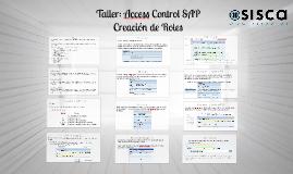 1 Taller: Access Control SAP