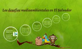 Los desafios medioambientales en El Salvador