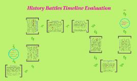 History Battles Timeline Evaluation