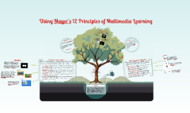 Copy of Using Mayer's 12 Principles of Multimedia Learning