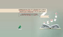 REPRESENTAÇÕES DE GÊNERO EM LIVROS DIDÁTICOS: IMAGENS E SEUS