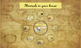 Minerals in your house