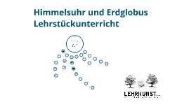 Copy of Himmelsuhr und Erdglobus