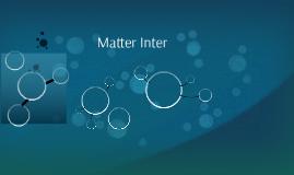 Matter Interface: Cancer Care