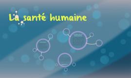 La santé humaine