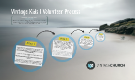 Vintage Kids | Volunteer Process