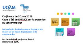 Conférence du 30 juin 2018