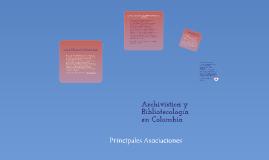 Asociaciones Colombiana de Bibliotecologos y Archivistas