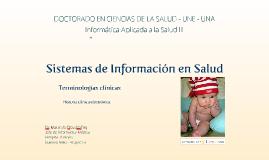 Sistemas de Información en Salud para UNE 2016