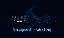 Viewpoint writing - Yr 9