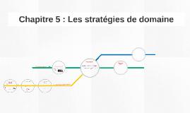 Chapitre 5 : Les stratégies de domaine